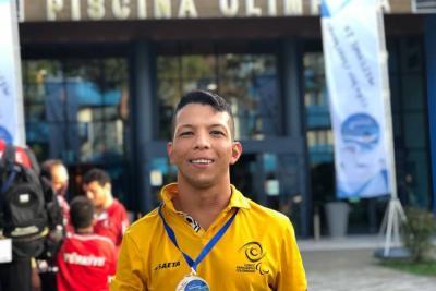 Santandereano Nelson Crispín Corzo logró medalla de bronce en Italia