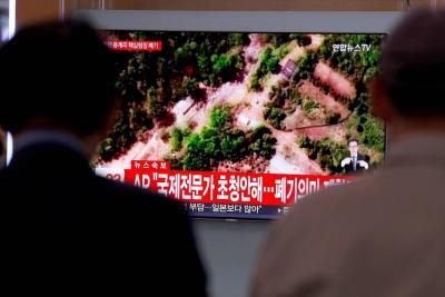Pyongyang cumple su palabra y destruye su base atómica