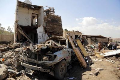 Nueve muertos dejaron ataques de la coalición árabe en el Yemen