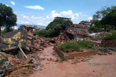 Zapamanga volvió a protestar, rechazan proyecto de vivienda