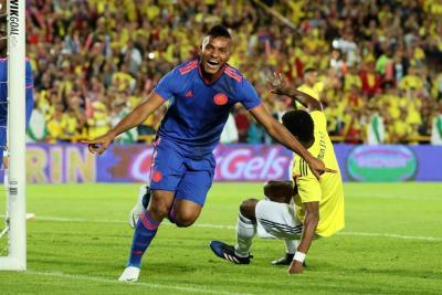La selección Colombia se despidió en Bogotá