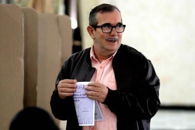 'Timochenko' votó por primera vez para que elecciones traigan reconciliación