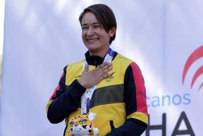 Ana Cristina se colgó la medalla de oro en la CRI