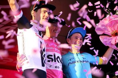 Froome ganó el Giro y logró la Triple Corona