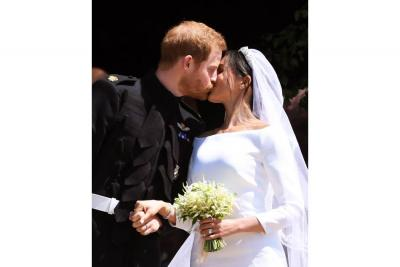 ¡La réplica del vestido de novia de Meghan Markle ya está disponible!