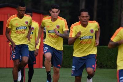 Colombia ya se encuentra en Italia preparándose para el Mundial