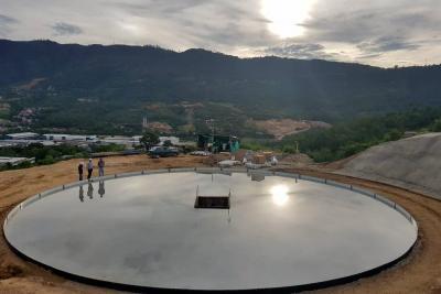 Obra en sector del Carrizal quedará  lista en dos meses
