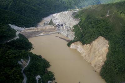 Alerta roja: Suspenden trabajos en Hidroituango por movimientos de tierra