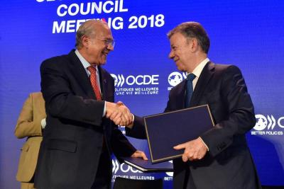 Para la OCDE el PIB de Colombia evolucionará hasta 3,2% en 2019