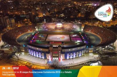 Brasil despojó a Colombia del liderato en la medallería de los Juegos Suramericanos