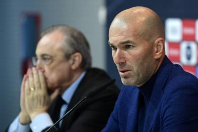 Zidane renunció a la dirección técnica del Real Madrid