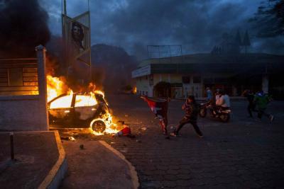 Nueva jornada de protestas en Nicaragua deja 11 muertos y 79 heridos