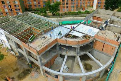Biblioteca Pública en Girón ya toma forma