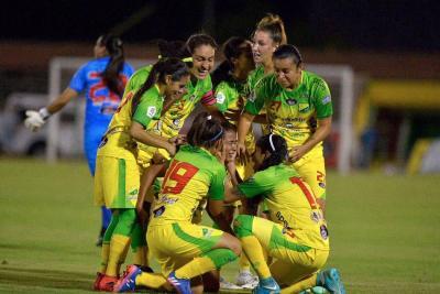 Con Yoreli Rincón, Huila conquistó la Liga Profesional Femenina de Fútbol