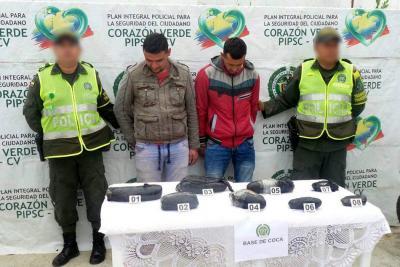 Viajaban por Santander con 12 kilos  de cocaína camuflados en una moto