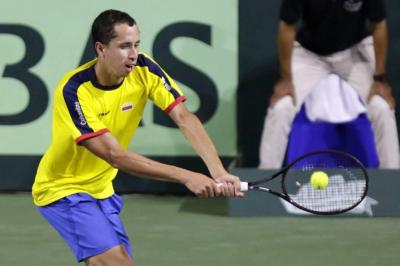 El santandereano Daniel Galán, el nuevo 'gigante' del tenis nacional