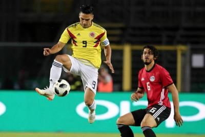 Colombia dominó a Egipto, pero sigue sin encontrar el gol