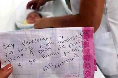 Bebé venezolana fue abandonada en Cúcuta