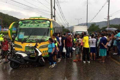 Motociclista falleció en la vía a Chimitá