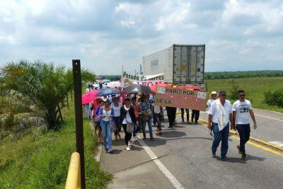 """Protesta de Sabana contra la Essa """"pasa de claro a oscuro"""""""