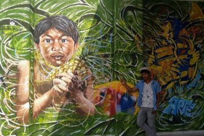 De indígena desplazado  a artista sobresaliente
