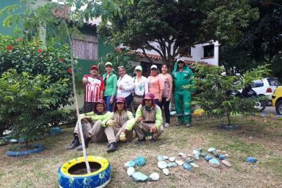 La comunidad de Carrizal recuperó 4 parques recreativos
