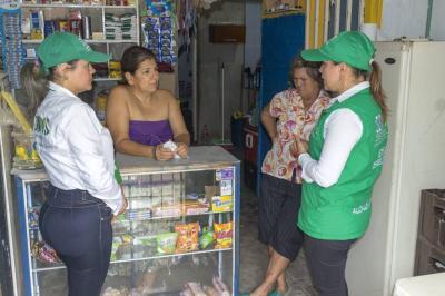Oferta institucional para las mujeres de Nuevo Girón
