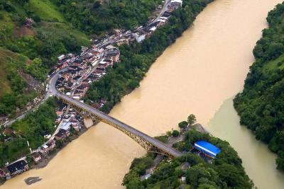 Adelantan proyecto para reubicar a Puerto Valdivia, afectado por emergencia de Hidroituango
