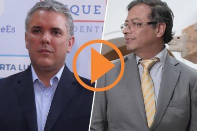 Duque lidera intención de voto sobre Petro en Santander