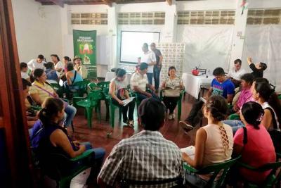 Cumplen sueño a 30 familias rurales de tener su casa propia