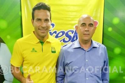 Luis Gabriel Rey, nuevo asesor deportivo del Bucaramanga