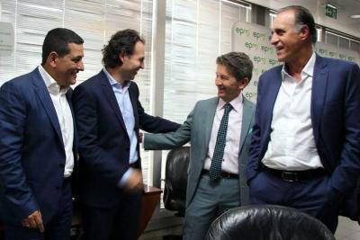 El regaño de Santos al Gobernador y el Alcalde por Hidroituango