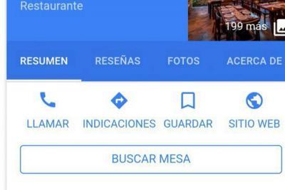 Google permite hacer reservaciones en restaurantes