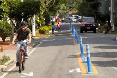 Anuncian sectores donde construirán 17,4 kilómetros de ciclorruta en Bucaramanga