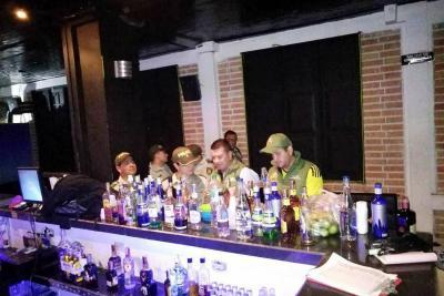 Clausuran local de venta de licor en sector La Isla