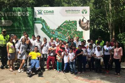 Niños de fundación en Lebrija conocieron el Jardín Botánico
