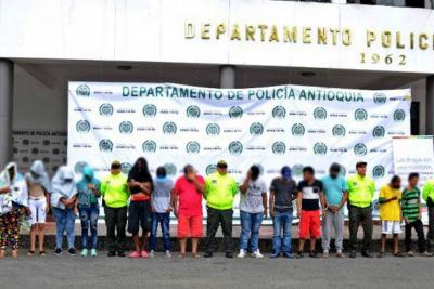 Capturados 18 miembros de clan 'Los Caparrapos'