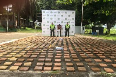 Frenan 350 kilos de marihuana que iban hacia Bucaramanga