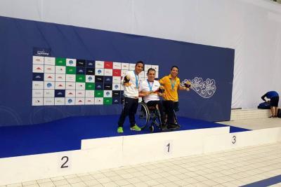Plata y bronce para Carlos Serrano y Nelson Crispín