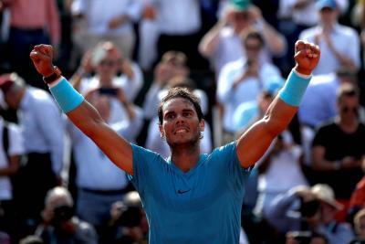 Nadal tumbó a del Potro y va por su undécimo Roland Garros