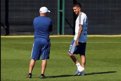 Por lesión, Manuel Lanzini quedó por fuera del Mundial