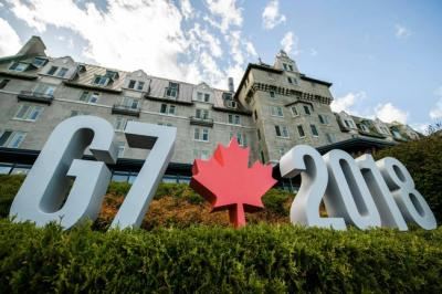 Negociadores siguen sin acuerdo sobre el comunicado final de la Cumbre del G7