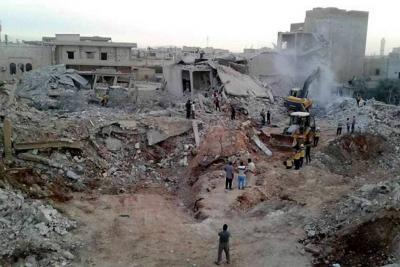 Aviones rusos habrían matado a 44 civiles en Siria
