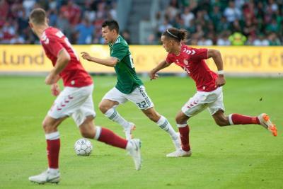 México cerró su preparación al Mundial con una derrota 2-0 contra Dinamarca