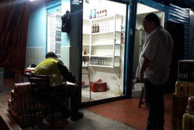 Cerraron cinco almacenes de licor,  cerca del San Andresito La Rosita