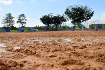 Concejo sesionará en la cancha  de fútbol del Primero de Mayo