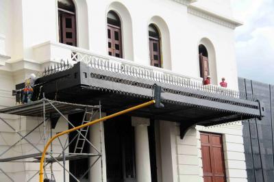 Obras del Teatro Santander están a punto de culminar