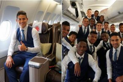 La Selección Colombia ya está en Rusia