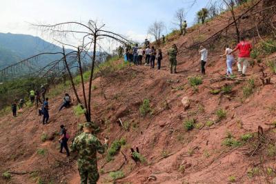Comunidad y autoridades trabajan para recuperar Cerro de La Cantera