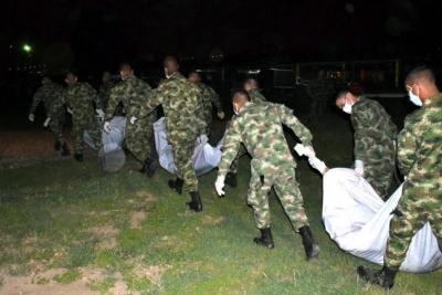Fuerzas Militares dieron de baja a 16 presuntos disidentes de las Farc